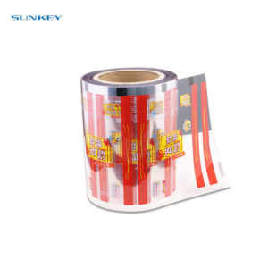 Automatic Transparent food packaging film 1