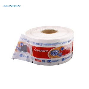 Automatic Transparent food packaging film 3
