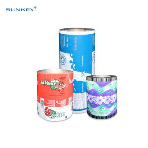 Automatic aluminum foil food packaging film1