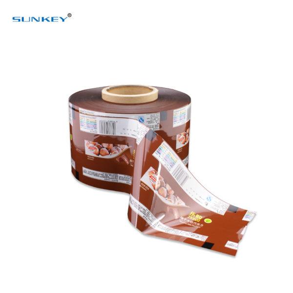 Automatic aluminum foil food packaging film2